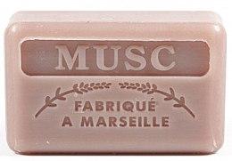 Parfémy, Parfumerie, kosmetika Marseille mýdlo Pižmo - Foufour Savonnette Marseillaise Musc