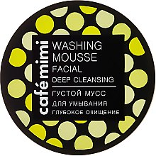 Parfémy, Parfumerie, kosmetika Mycí pěna na obličej Hluboké čištění - Cafe Mimi Washing Mousse Facial Deep Cleaning