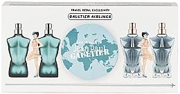 Parfémy, Parfumerie, kosmetika Jean Paul Gaultier Mini Set - Sada (edt/2x7ml+edp/2x7ml)