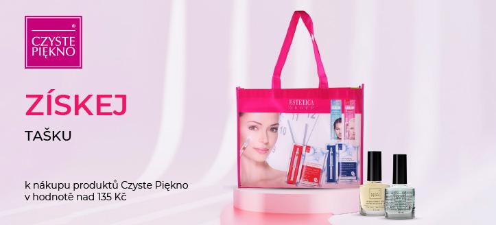 K nákupu produktů Czyste Piękno v hodnotě nad 135 Kč získej tašku jako dárek