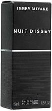 Parfémy, Parfumerie, kosmetika Issey Miyake Nuit d'Issey - Toaletní voda (mini)