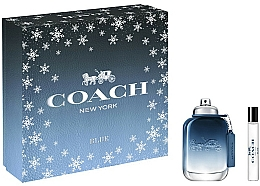 Parfémy, Parfumerie, kosmetika Coach Blue - Sada (edt/60ml+ edt/7.5ml)