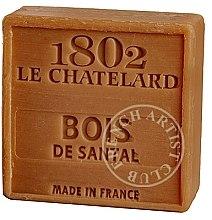 Parfémy, Parfumerie, kosmetika Mýdlo - Le Chatelard 1802 Soap Sandalwood