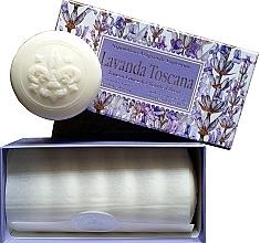 Parfémy, Parfumerie, kosmetika Dárkové mýdlo- sada Toskánská levandule - Saponificio Artigianale Fiorentino Lavender Toscana (Soap/6x50g)