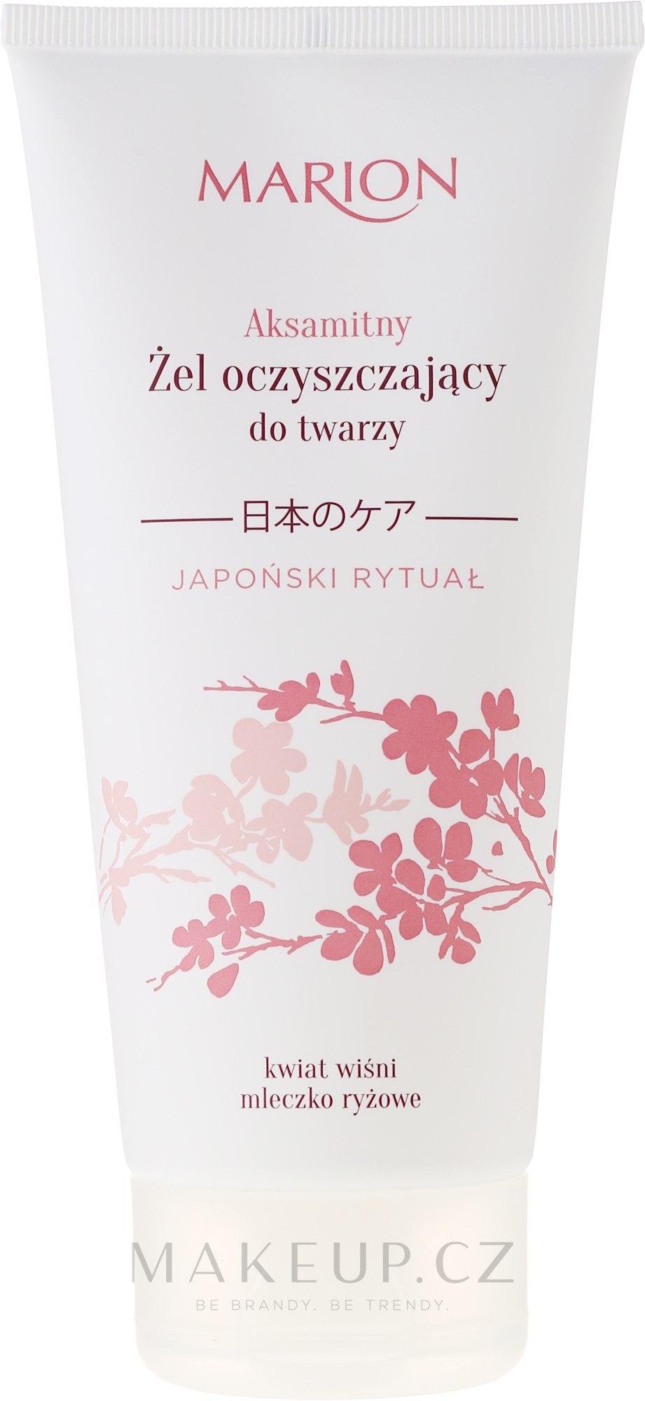 Čistící gel na obličej - Marion Japanese Ritual Velvet Cleansing Gel For Face — foto 150 ml