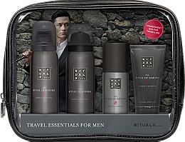 Parfémy, Parfumerie, kosmetika Sada - Rituals The Ritual of Samurai Essentials Travel Set (foam/gel/50ml + sh/foam/50ml + cr/30ml + deo/50ml + bag)