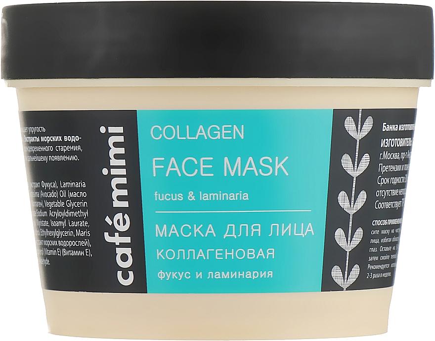 Pleťová maska s kolagenem - Cafe Mimi Face Mask