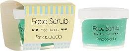 Parfémy, Parfumerie, kosmetika Hydratační peeling na obličej a rty - Nacomi Moisturizing Face&Lip Scrub Pinacolada