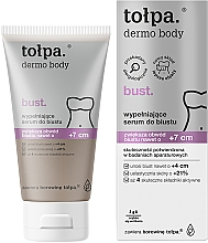 Parfémy, Parfumerie, kosmetika Modelační sérum na poprsí - Tolpa Dermo Body +7cm Bust Serum