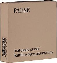 """Parfémy, Parfumerie, kosmetika Pudr na obličej """"Matující"""" - Paese Powder Mate"""