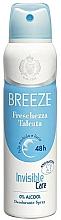 Parfémy, Parfumerie, kosmetika Breeze Deo Freschezza Talcata - Tělový deodorant