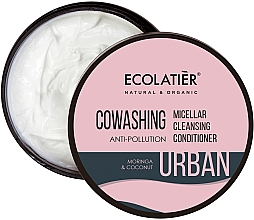 Parfémy, Parfumerie, kosmetika Micelární vlasový balzám Moringa a kokos - Ecolatier Urban Micellar Cleansing Conditioner
