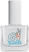 Parfémy, Parfumerie, kosmetika Vrchní lak na nehty urychlující schnutí - Snails Natural Top Coat