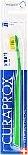 Parfémy, Parfumerie, kosmetika Dětský zubní kartáček Smart, zelený/světle zelený - Curaprox