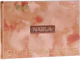 Parfémy, Parfumerie, kosmetika Paleta očních stínů - Nabla Cutie Collection Palette Nude