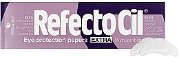 Parfémy, Parfumerie, kosmetika Papírové podložky pod oči (80ks) - RefectoCil Eye Protection Papers Extra