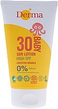 Parfémy, Parfumerie, kosmetika Opalovací dětský krém SPF 30 - Derma Eco Baby Mineral SPF 30