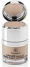 Parfémy, Parfumerie, kosmetika Korektor na obličej - Dermacol Caviar Long Stay Make-Up & Corrector