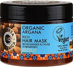 Parfémy, Parfumerie, kosmetika Obnovující maska na vlasy - Planeta Organica Organic Argana Rich Hair Mask