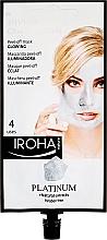 Parfémy, Parfumerie, kosmetika Maska na obličej - Iroha Nature Platinum Peel Off Mask Glowing 4 Uses