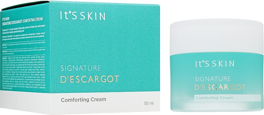 Zklidňující krém - It's Skin Signature D'escargot Comforting Cream — foto N1