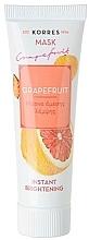 Parfémy, Parfumerie, kosmetika Zesvětlující maska Grapefruit - Korres Grapefruit Instant Brightening Mask