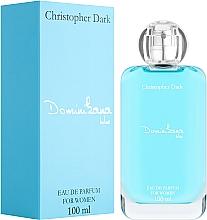 Parfémy, Parfumerie, kosmetika Christopher Dark Dominikana Blue - Parfémovaná voda