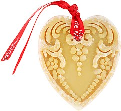Parfémy, Parfumerie, kosmetika Mýdlo ve tvaru srdce - Nature de Marseille Soap