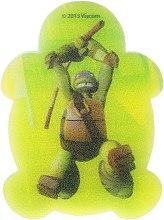 Parfémy, Parfumerie, kosmetika Dětská koupelová houba Želvy ninja Leonardo 5 - Suavipiel Turtles Bath Sponge
