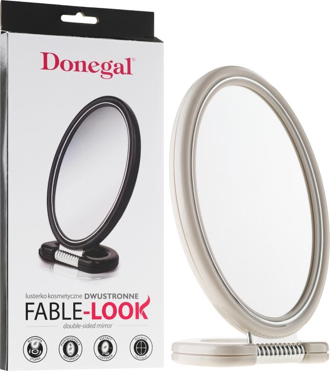 Zrcadlo oboustranné, 9503, bílé - Donegal Mirror