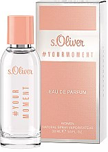 Parfémy, Parfumerie, kosmetika S. Oliver #Your Moment - Parfémovaná voda