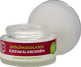 Parfémy, Parfumerie, kosmetika Noční krém s olejem z hroznových jader - Yamuna Grape Seed Oil Night Cream