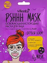 Parfémy, Parfumerie, kosmetika Osvěžující kyslíková pleťová maska se sladkou mátou a komplexem Acid+ - Vilenta Pshhh Mask
