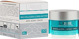Parfémy, Parfumerie, kosmetika Krém proti vráskám s kolagenem a bambuckým máslem 55+ - Ava Laboratorium L'Arisse 5D Anti-Wrinkle Cream Bio Collagen + Shea Butter