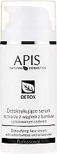 Parfémy, Parfumerie, kosmetika Detoxové sérum pro mastnou a kombinovanou pokožku - APIS Professional Detox Detoxifying Face Serum With Carbon Bamboo And Ionized Silver