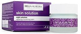 Parfémy, Parfumerie, kosmetika Obnovující výživný balzám na obličej - Bella Aurora Night Solution Repairing Nourishing Balm