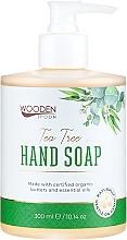 Parfémy, Parfumerie, kosmetika Tekuté mýdlo Čajový strom - Wooden Spoon Tea Tree Hand Soap