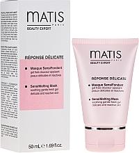Parfémy, Parfumerie, kosmetika Osvěžující gel-maska na obličej - Matis Reponse Delicate Sensimelting Mask