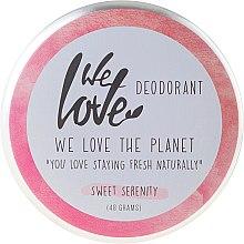 "Parfémy, Parfumerie, kosmetika Přírodní krémový deodorant ""Sweet Serenity"" - We Love The Planet Deodorant Sweet Serenity"