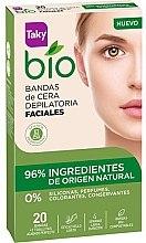 Parfémy, Parfumerie, kosmetika Depilační proužky na tělo - Taky Bio Natural 0% Face Wax Strips