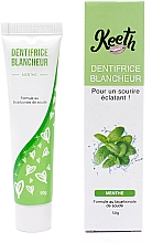 Parfémy, Parfumerie, kosmetika Bělící zubní pasta s příchutí máty - Keeth Mint-flavoured Whitening Toothpaste