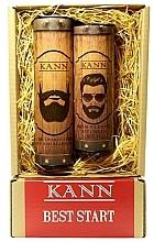 Parfémy, Parfumerie, kosmetika Sada - Kann Best Start Man (f/d/cr/50ml + f/gel/150ml)