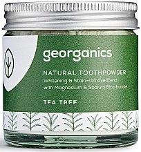 Parfémy, Parfumerie, kosmetika Přírodní zubní prášek - Georganics Tea Tree Natural Toothpowder