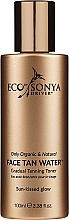 Parfémy, Parfumerie, kosmetika Samoopalovací tonikum na obličej, krk a dekolt - Eco by Sonya Eco Tan Face Tan Water