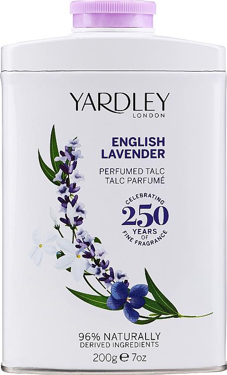 Talek pro tělo - Yardley English Lavender Perfumed Talc
