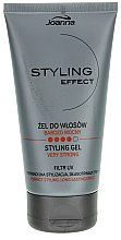 Parfémy, Parfumerie, kosmetika Gel pro úpravu vlasů super silná fixace - Joanna Styling Effect Styling Gel Very Strong