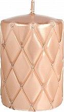 Parfémy, Parfumerie, kosmetika Dekorativní svíčka, 10 cm, zlatá - Artman Florence Candle