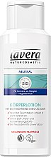 Parfémy, Parfumerie, kosmetika Neutrální BIO-mléko na tělo - Lavera Neutral Body Lotion