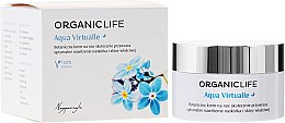 Parfémy, Parfumerie, kosmetika Krém na obličej - Organic Life Dermocosmetics Aqua Virtualle Moisturising Night Cream
