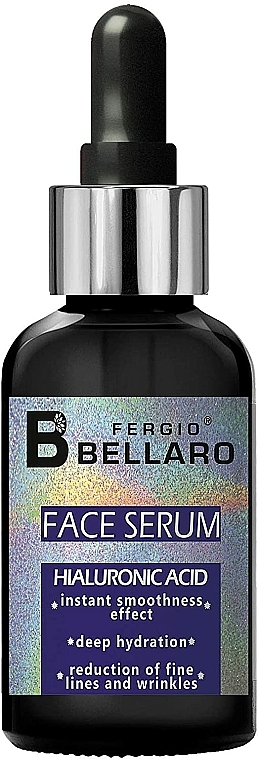 Pleťové sérum s kyselinou hyaluronovou - Fergio Bellaro Face Serum Hyaluronic Acid